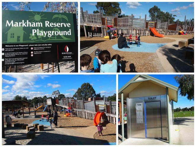 Markham Victory Reserve Adventure Playground - Melbourne.        Warri gal rd Ashburton