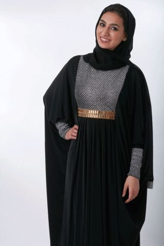 back for #EID, our exclusive Starlet Dress Abaya. Only at  LittleBlackAbaya.com