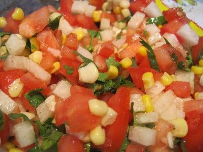 Jicama Salsa Recipe in 2018 All Kinds Of Salsas Pinterest