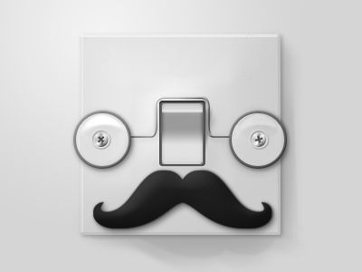 A MOvember Grandpa Switch !    Had some free time and I wanted to do something nice, something different, and this is what I got so far. Think I'll do a female version.
