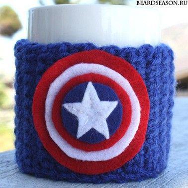 """Настаканник """"Капитан Америка"""""""