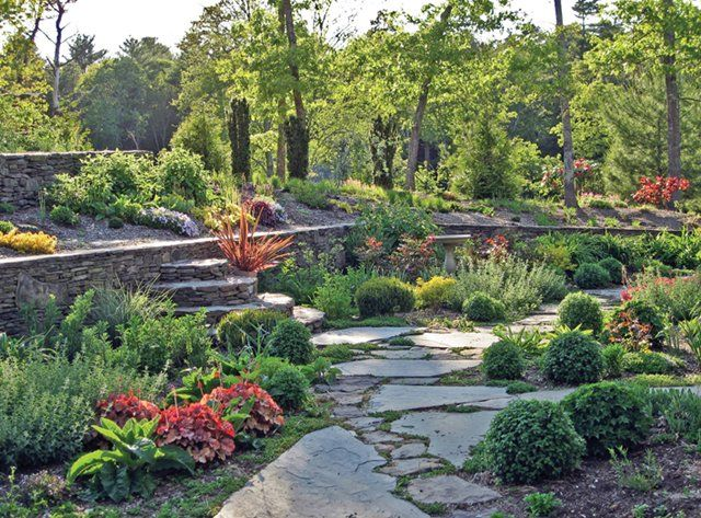 Rock Your Garden With Stone Walls