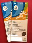 #Ticket – 2 x Tickets Rio 2016 Olympics ATHLETICS FINALS AT005 FREE UPS SHIPPING…