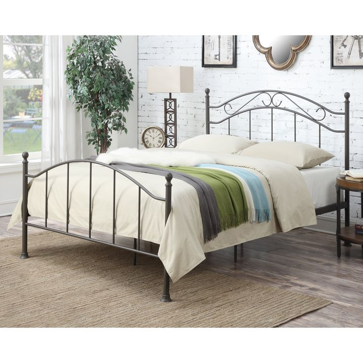 home meridian norwell standard queen bed from hayneedlecom - Standard Queen Bed Frame