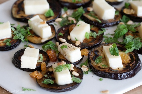 Creation Wines | Aubergines with feta