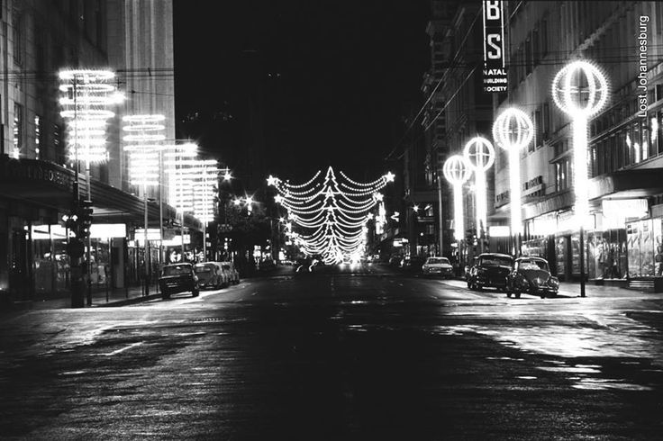 Johannesburg, during the festive season in 1966 Photo Submitted by Marisa RothBauer Photograph taken by Wolfgang Rothbauer Photo Ref.: 3428