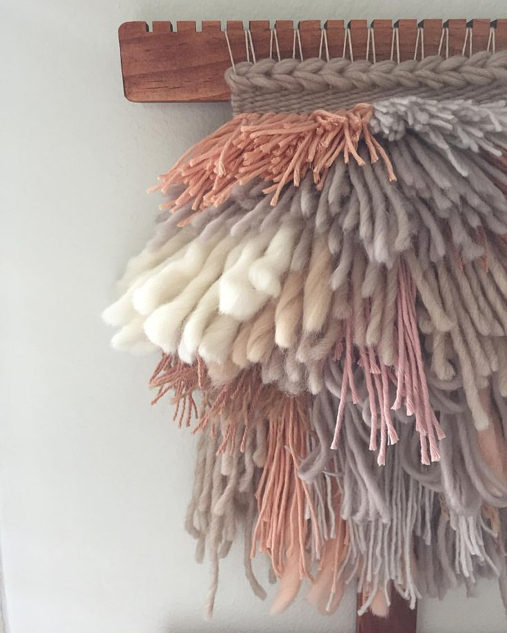 "Cam Kennedy on Instagram: ""Still caught up in those Yeezy vibes over here... ""  ☁️ woven wall hangings weave witch wool & needle by cam kennedy"