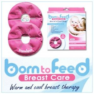Born to Feed ~ Warm & Cool Breast Therapy - http://www.littlepeopleandme.com/shop/feeding-nursing/born-feed-warm-cool-breast-therapy/