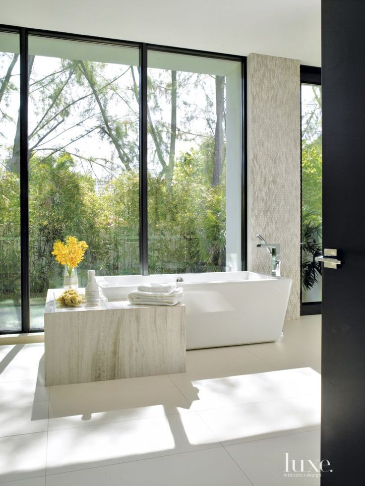 1000 Ideas About Modern White Bathroom On Pinterest