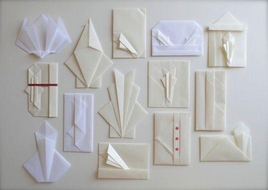 胡麻塩包の画像:折形礼法の考察