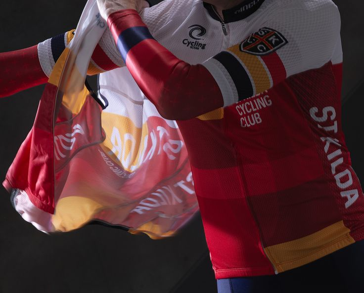 Our kit design for the St Kilda Cycling Club, Melbourne.