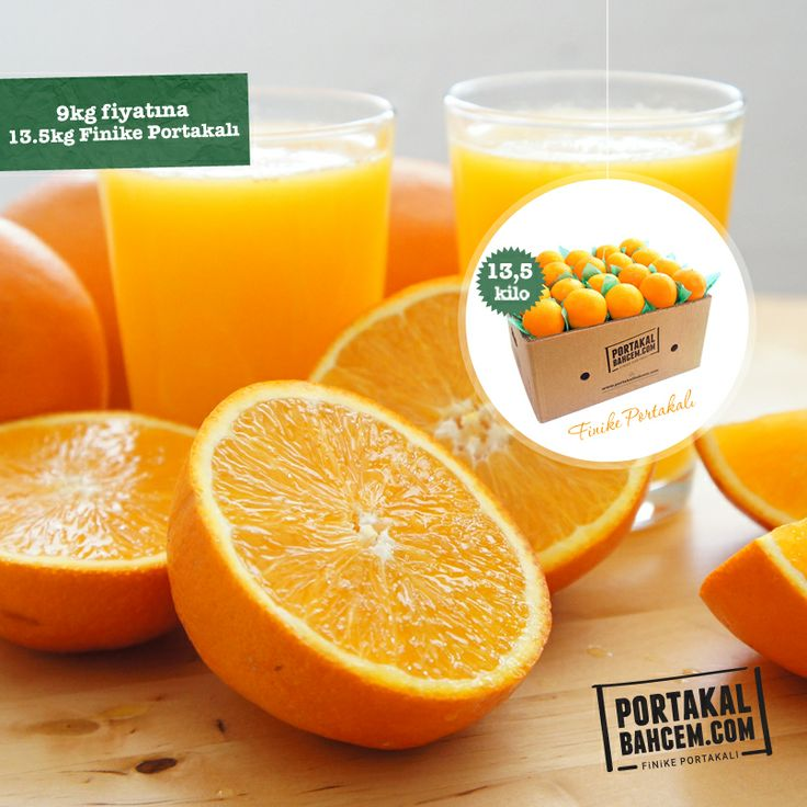 Sezon Bitmeden Doya Doya Ye :) 13.5kg Finike portakalı 9kg fiyatına! ► http://www.portakalbahcem.com/urun/finike-portakali-135kg/