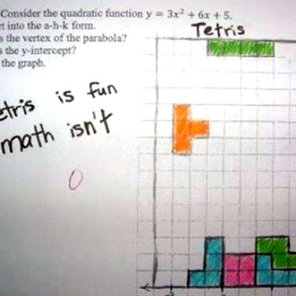 Top 20: respuestas graciosas o absurdas en exámenes y tareas
