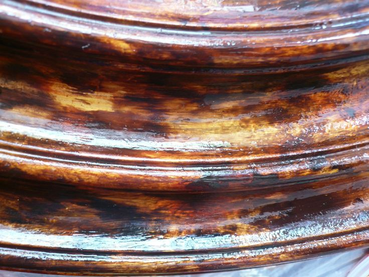 tortoise shell finish | how to execute a faux finish