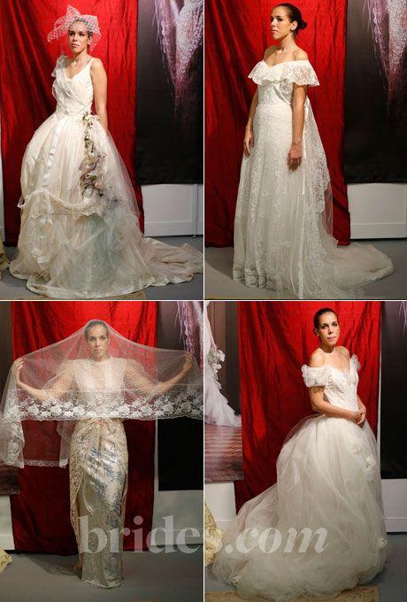 Brides.com: Pat Kerr Wedding Dresses - Fall 2013. The Fall 2013 wedding dress collection by Pat Kerr