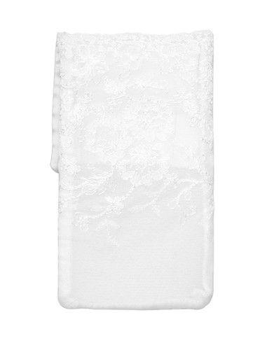 Com esta bolsa bordada não se vai esquecer do seu telemóvel mesmo no dia do casamento!
