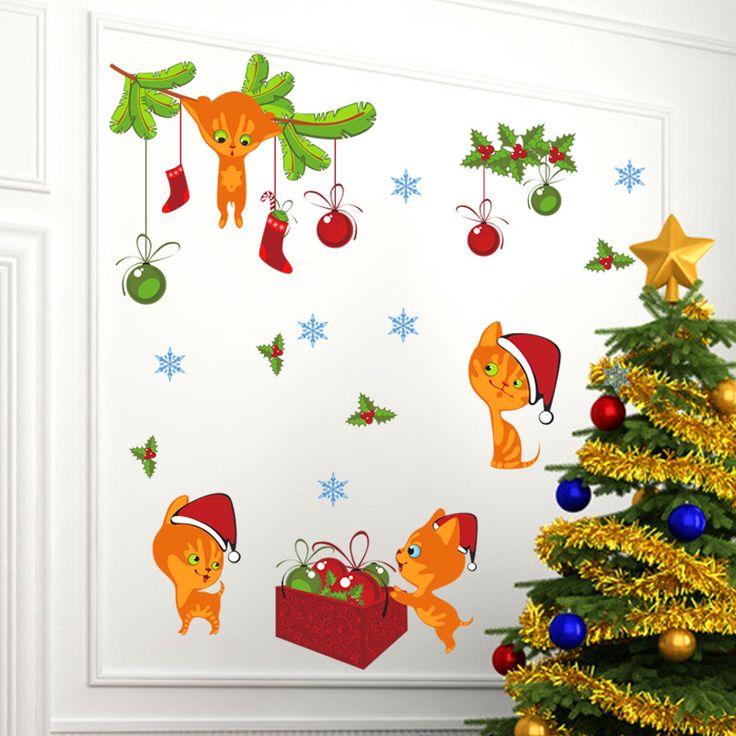 Christmas Cats //Price: $14.25 & FREE Shipping //     #DIY