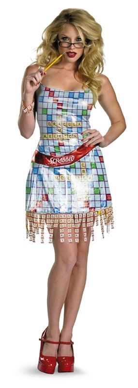 63 best images about board game costumes on pinterest for Diy scrabble costume