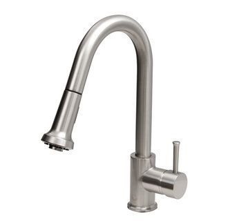 Perfect Update Your Kitchen By Adding This Stylish Yet Durable Vigo Faucet.  Stainless Steel Finish With A Solid Brass Construction For Durability And  Longer Life.