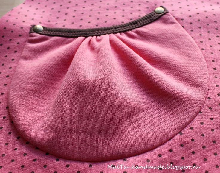 malta-handmade: МК и выкройка карманов со спрятанными швами притачивания