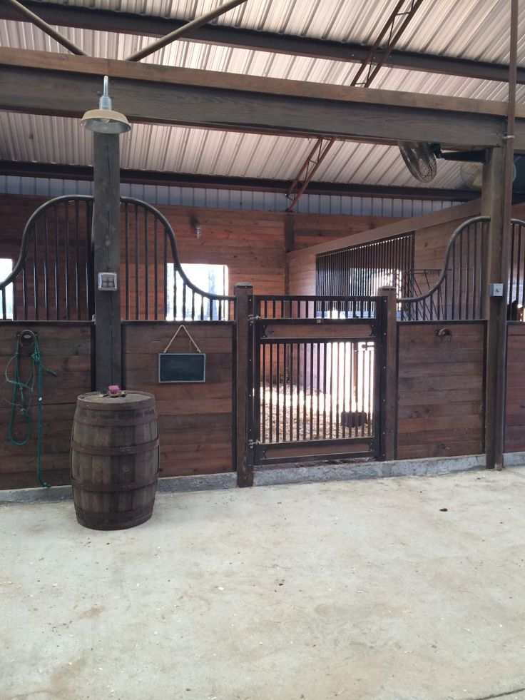 This is definitely a dream horse barn idea. The design is so detailed.