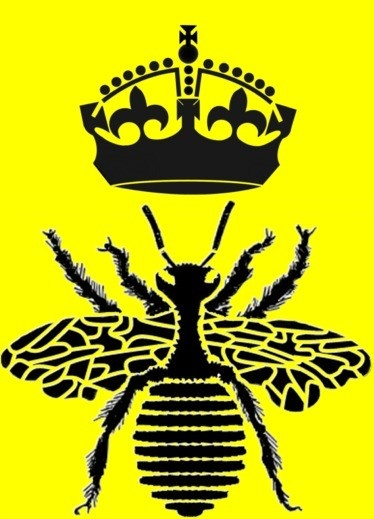 Napoleons Bee With Crown Queen Reusable By ArtisticStencils