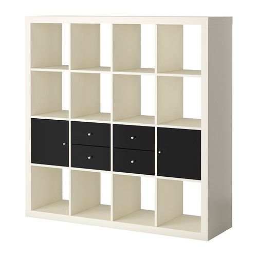 Expedit Storage Combination W Doors Drawers Ikea 229 00 Width 58 5 8 Height Design For My House Pinterest Shelves And Home