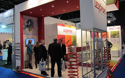 Heavy springs and power springs in focus at the ESEF fair in Holland.