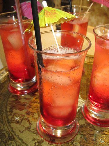 Alkoholfri Sangria. (Sommerdrink)