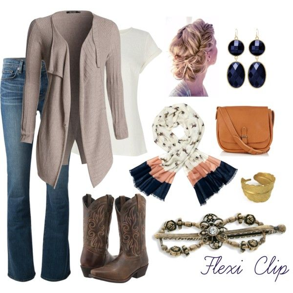 Modern Cowgirl with Flexi Clip