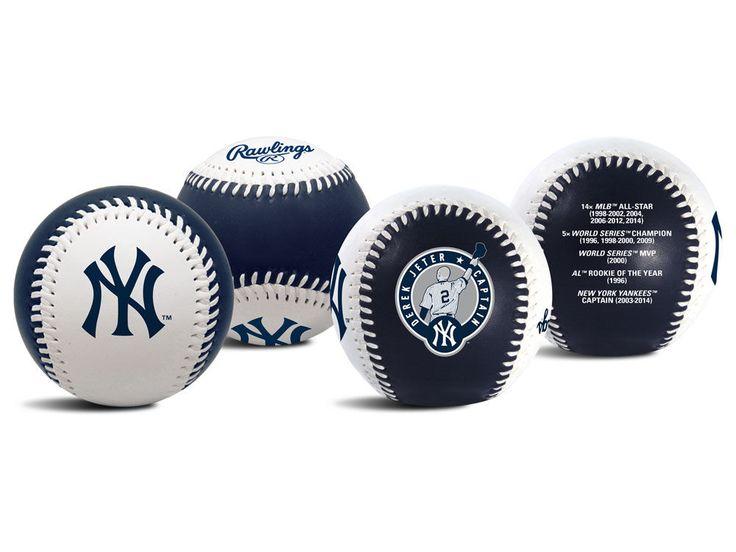 New York Yankees Derek Jeter The Original Team Event Logo Baseball