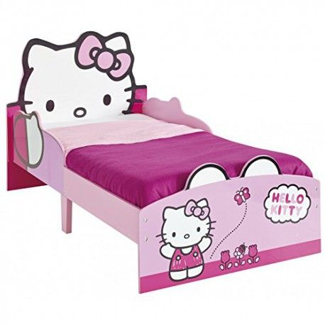 World Apart 506HTT - CAMA INFANTIL DEMADERA 140X70 - Hello Kitty