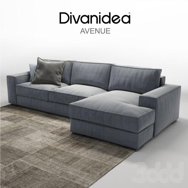 Угловой диван Divanidea