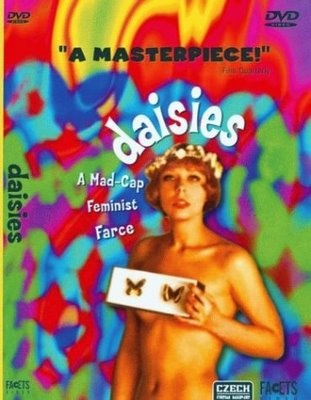 Daisies Sedmikrasky DVD cover: Picture-Black Posters, Daisies Sedmikráski, 1966 Movie, Daisies 1966, Watches Movie, Chytilova Daisies, Daisies 1967, Daisies Sedmikraski, Movie Watches