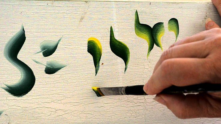 basic strokes View my blog to follow my step by step flower painting tutorials. www.flowerpatchfarmhouse.com