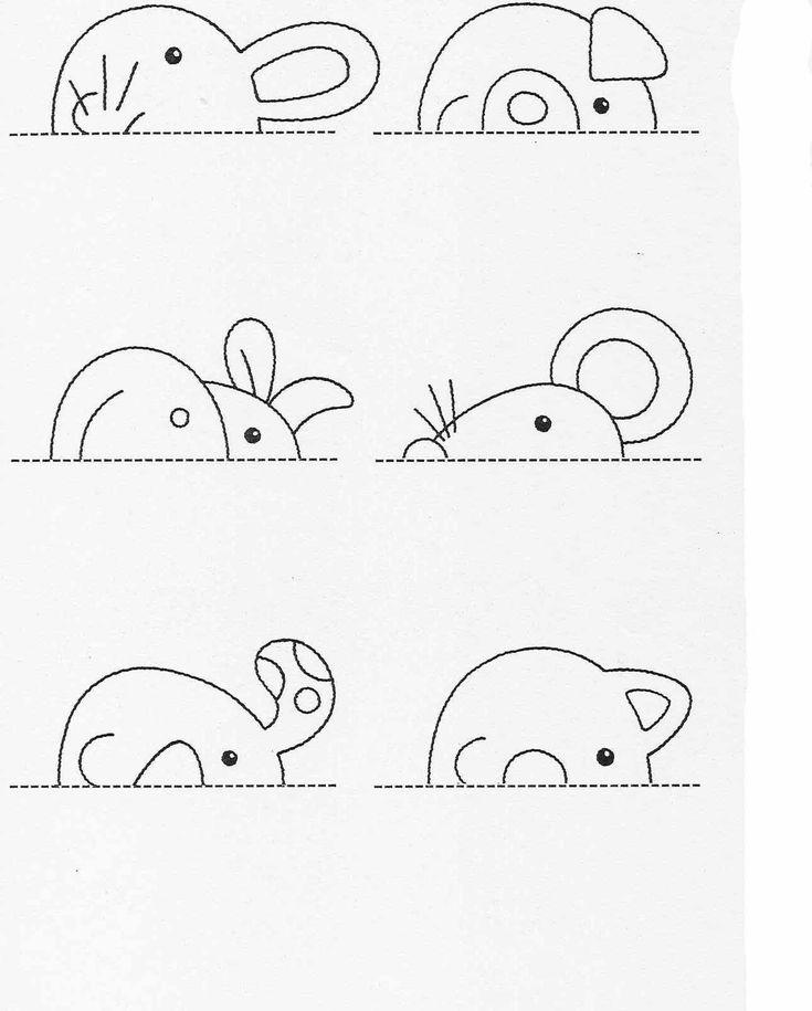 Actividades para niños preescolar, primaria e inicial. Fichas para imprimir en las que tienes que completar los dibujos y colorearlos para niños de preescolar y primaria. Completar y Colorear. 26