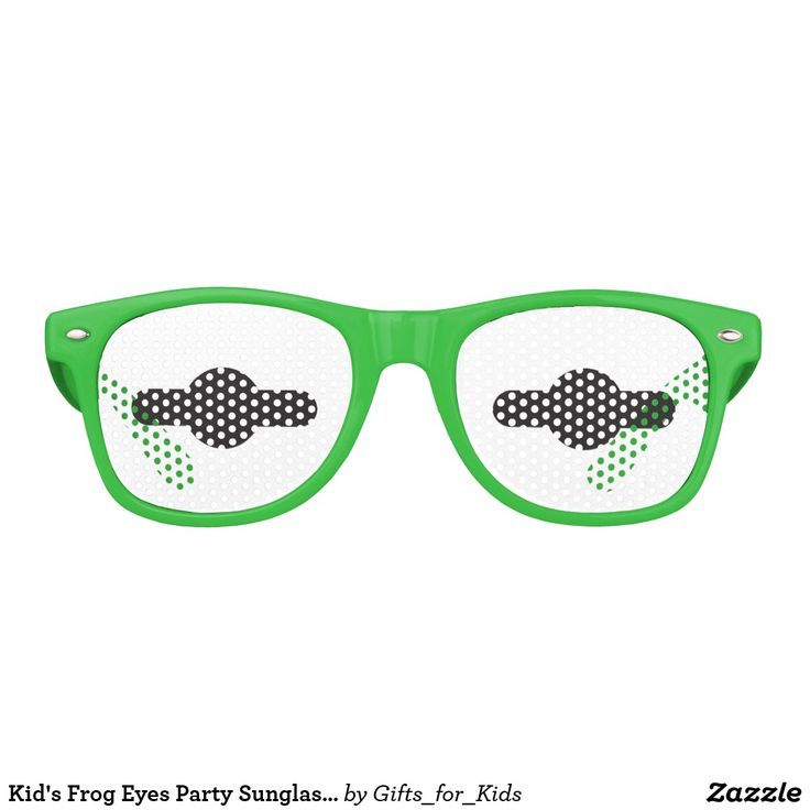 """Kid's Summer Fun Sunglasses - """"FROG EYES"""" -  New for 2017 - Save 15% Off with coupon code ZSITEFIFTEEN (summer 2017, kids, children, child, sunglasses, fun, toys, kermit the frog, muppets, play, outdoors, pool, party, shades, funny, silly, game, cosplay, costume, boys, girls, save, discount, coupon code, savings, sale)"""