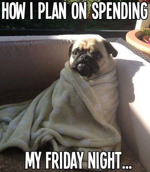 We know where we'll be! What about you? #TGIF