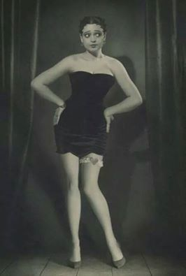 "BETTY BOOP-Ms. ESTHER JONES, known by her stage name, ""Baby Esther,"" was an African-American singer and entertainer in the late 1920s. She performed at the Cotton Club in Harlem. Singer Helen Kane saw her act in 1928 and (COPIED or stole) Ms. Jones' singing style, for a recording of ""I Wanna Be Loved By You"" Ms. Jones' singing style went on to become the inspiration for Max Fleischer's character's voice and singing style of BETTY BOOP, who was a Black. This is Kane pictured not Jones.:"