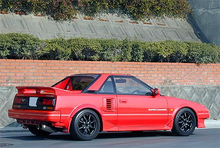 2e3c4a57207 Toyota AW11 MR2 G-Limited Superchared