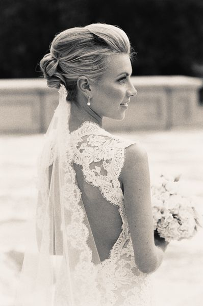 Elegant Lace Back Wedding Dress, MY DREAM DRESS