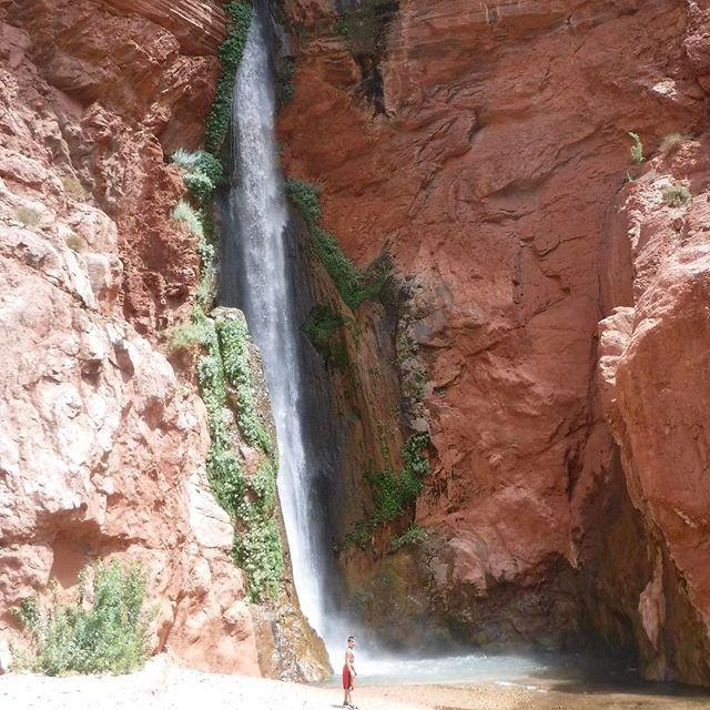 Deer Creek Falls, Grand Canyon #wanderlustinplaid #nofilter #deercreekfalls #grandcanyon