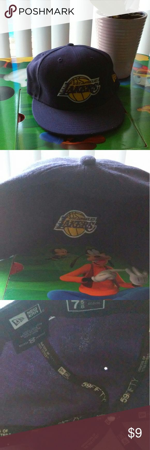 Selling this L.A. Lakers 75 cap new era good shape on Poshmark! My username is: vintagelvr8787. #shopmycloset #poshmark #fashion #shopping #style #forsale #New Era #Other