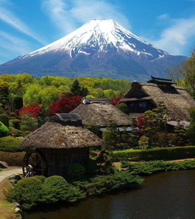 忍野八海 #japan
