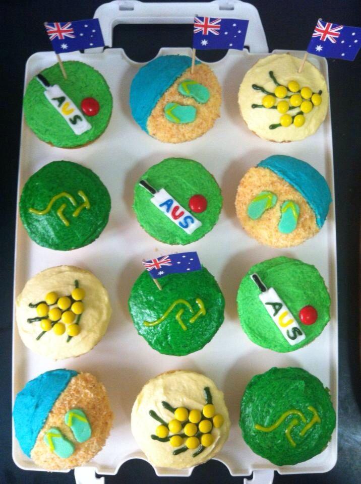 Australia Day Cupcakes - 2013