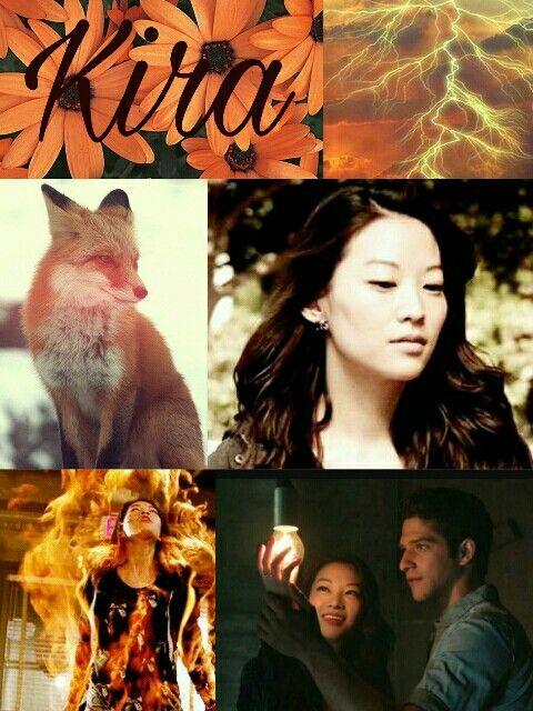 Kira Yukimura/kitsune -Teen Wolf