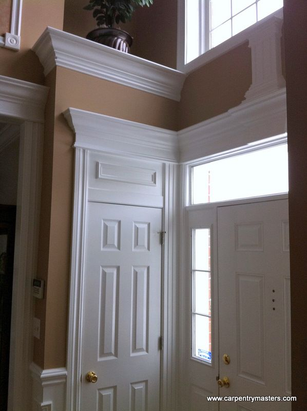 Decorative Window Trim Moldings | ... - Door and Window ...