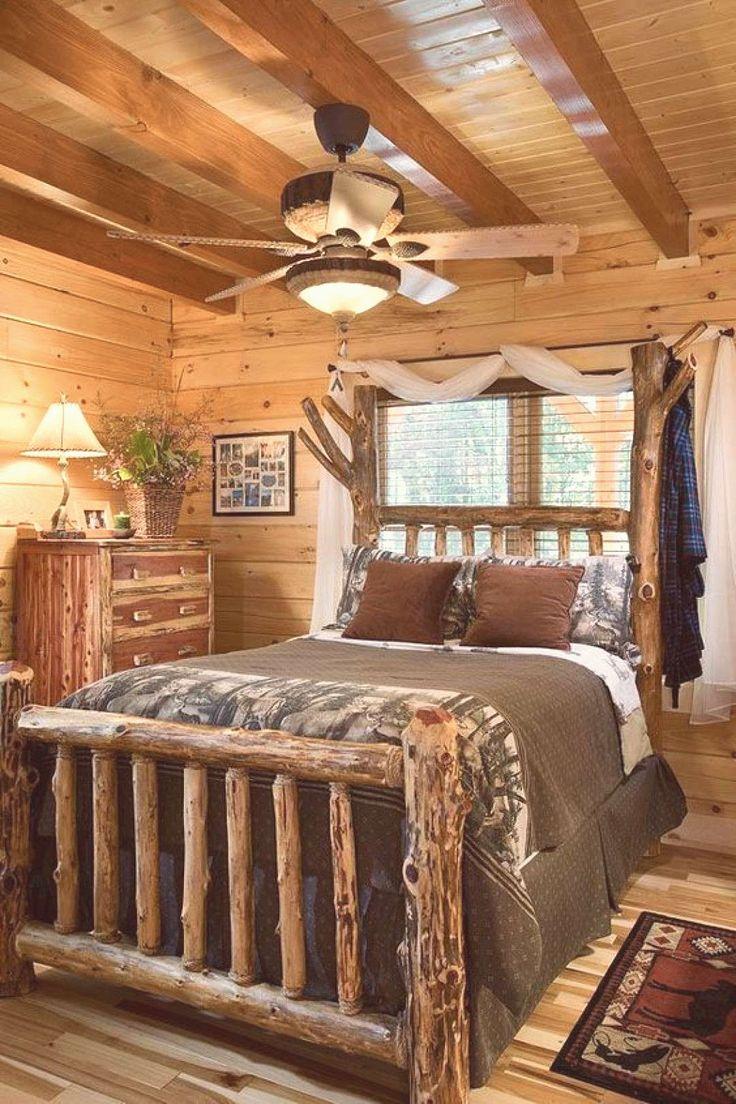 Log Cabin Furniture Bedroom Western Decor Log cabin