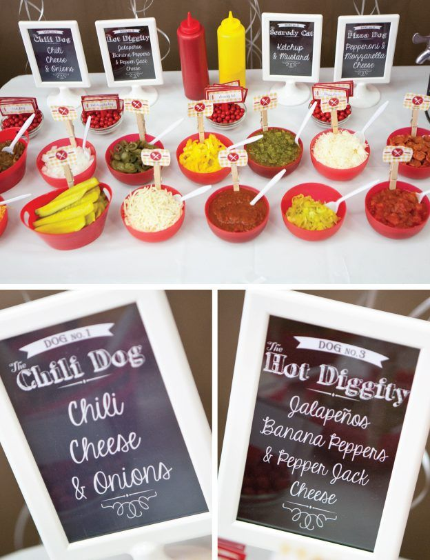 Hot Dog Bar – Free Printable Signs