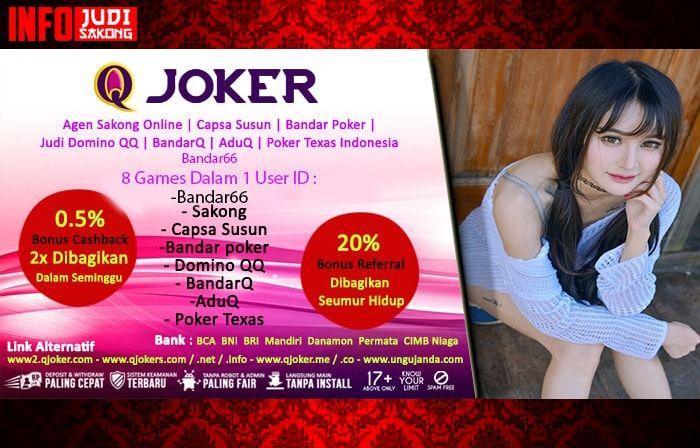 InfoJudiSakong – Hai Judi Online Lovers, kali ini kami akan membahas Trik Bermain AduQ Online QJoker.me. Untuk kalian yang masih awam kami akan memberikan cara bagaimana kalian bisa menang dengan mudah. Langsung saja simak di bawah ini.  http://infojudisakong.com/trik-bermain-aduq-online-qjoker-me/  http://www.sakong2018.com/2018/03/trik-bermain-aduq-online-qjokerme.html